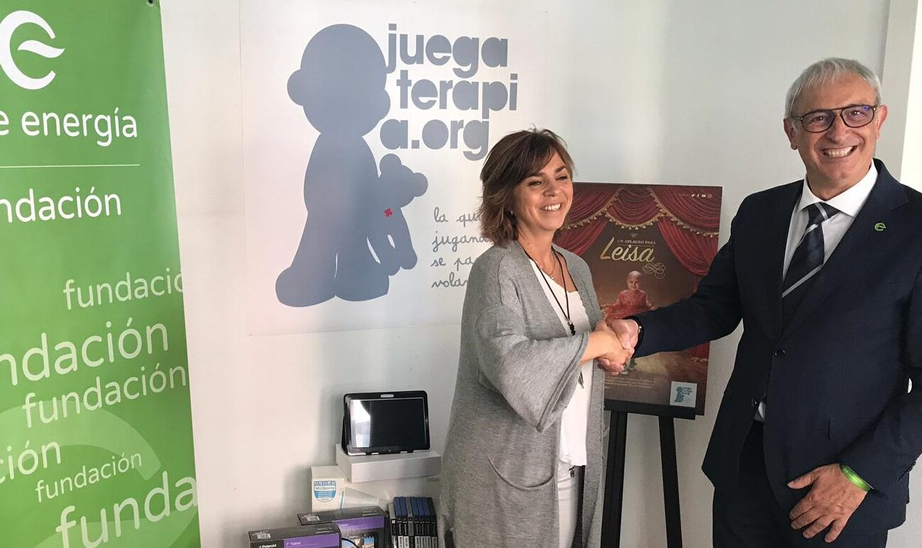 La Fundación Feníe Energía colabora con el Plan Renove de la Fundación Juegaterapia para la instalación de video consolas en las áreas de oncología de los hospitales de toda España